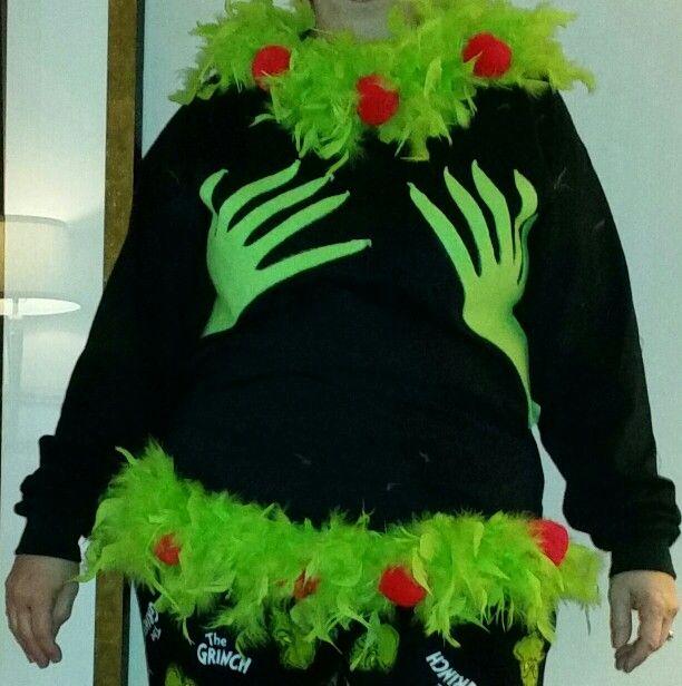 0293978f Ugly Christmas Sweater Mr Grinch | Christmas | Diy ugly christmas ...