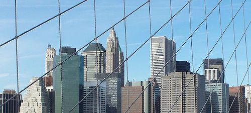 NEW YORK- Febr.28th, 2004 Missing two towers.. by Nells Photography, via Flickr