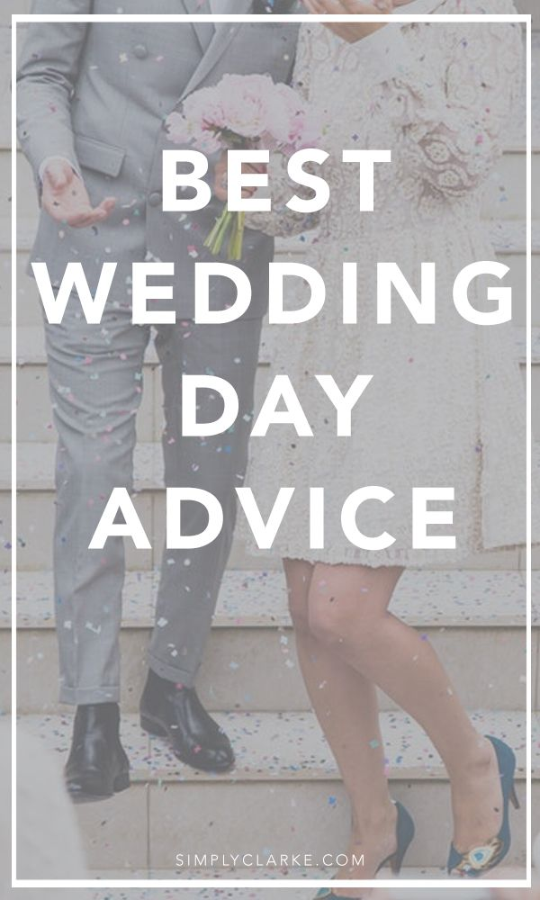 Best Wedding Day Advice Wedding advice quotes, Getting