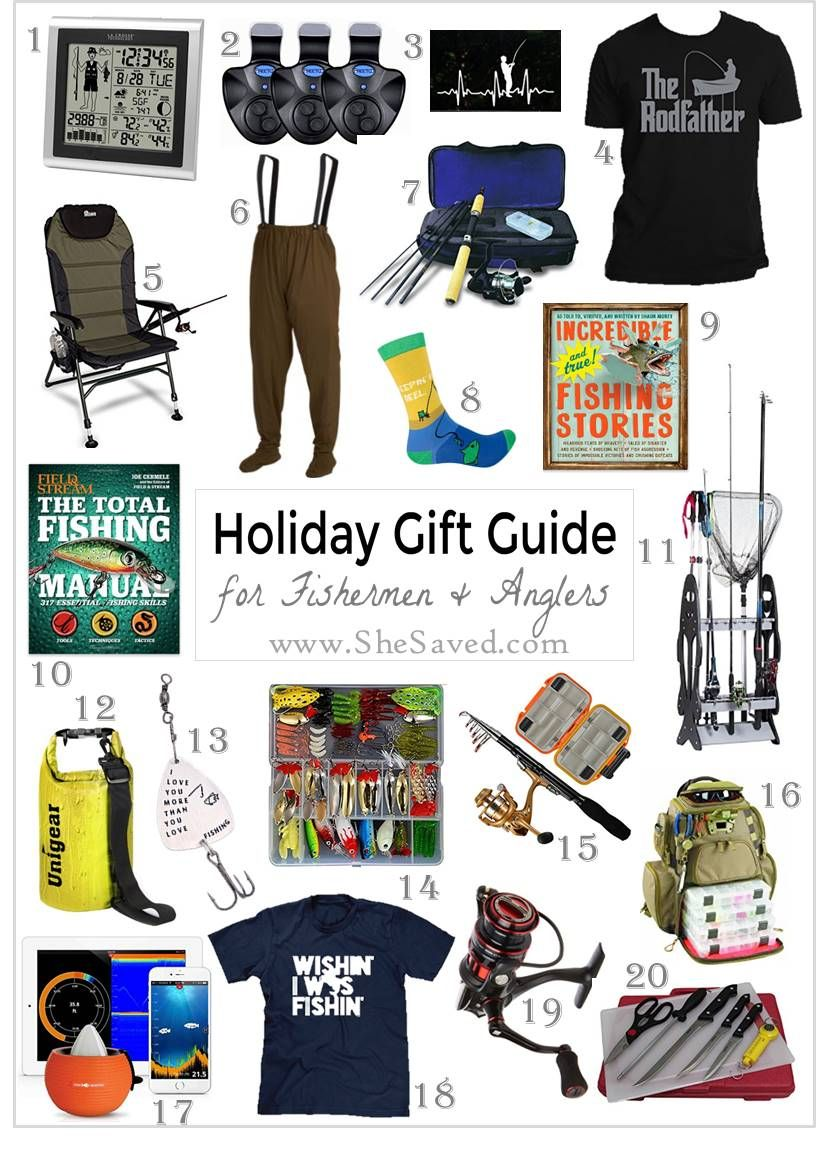 HOLIDAY GIFT GUIDE: Gifts for the Fisherman (or woman!) on Your List ...