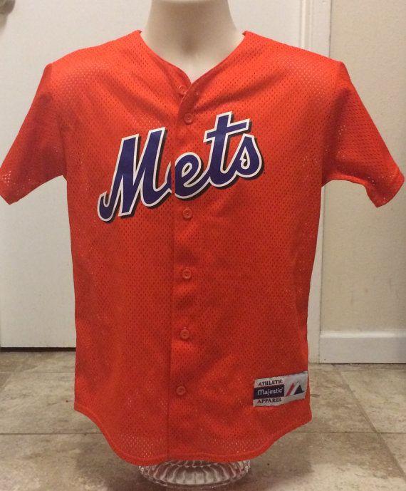 02c1181f4bf New York Mets MLB Baseball Jersey Vintage T shirts Jerseys Baseball ...