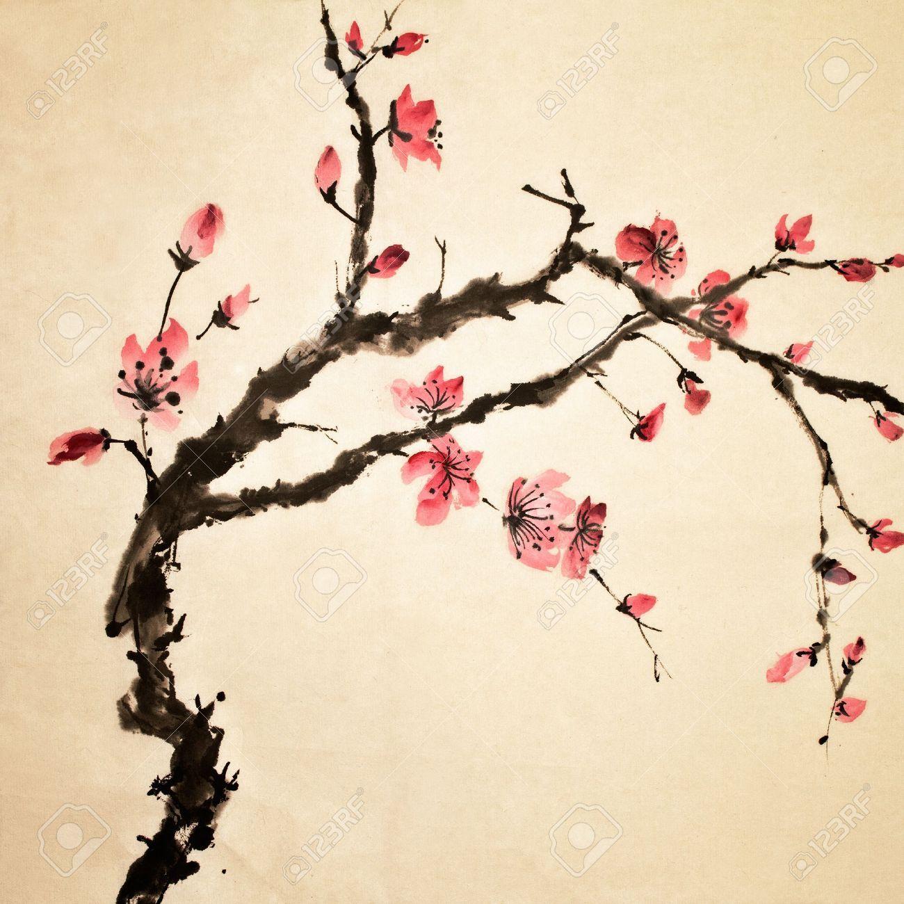 Japanese traditional art pesquisa google inspira es for Chinese mural art