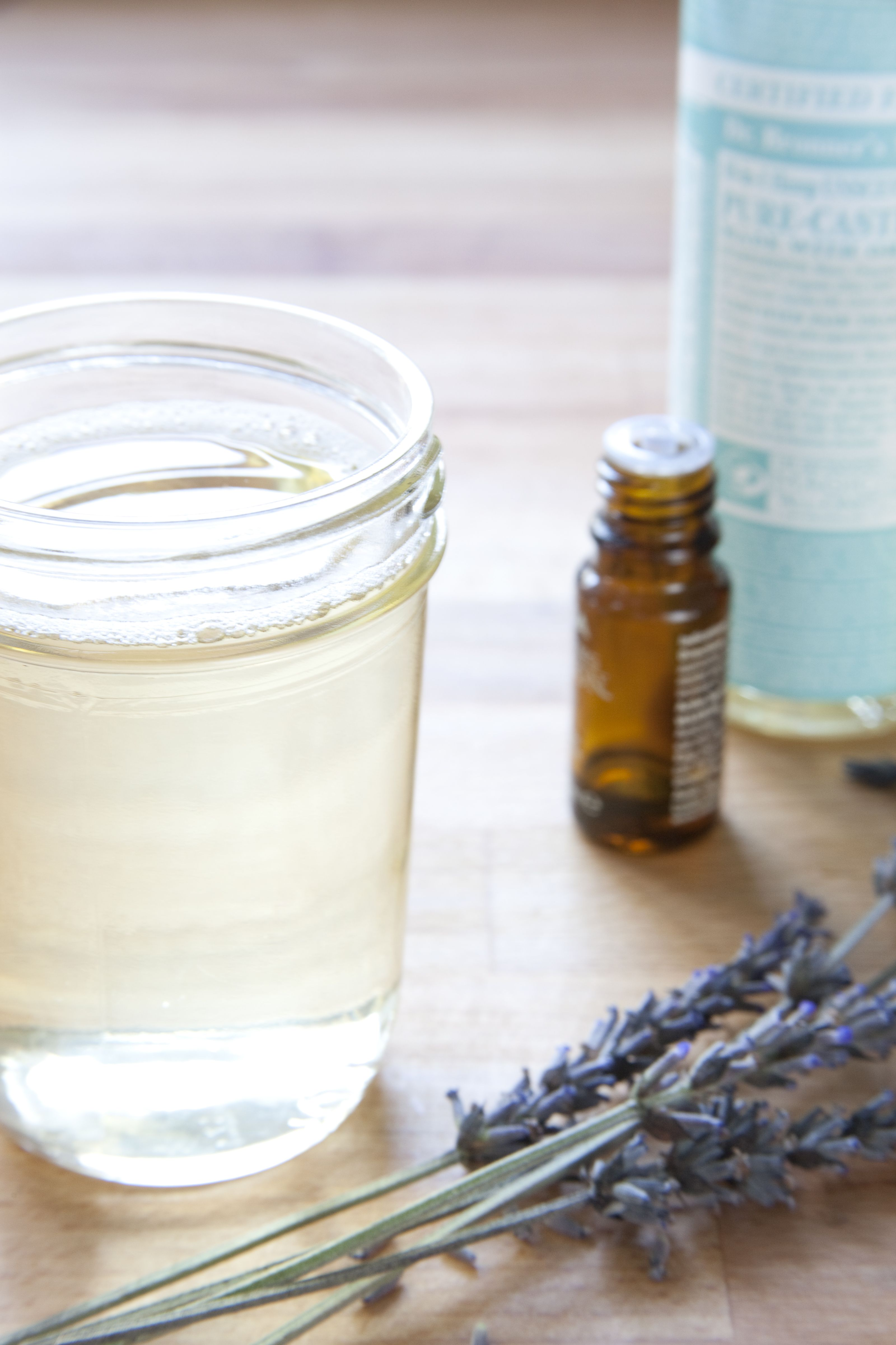 How to Make Your Own Easy, All Natural Shampoo Natural
