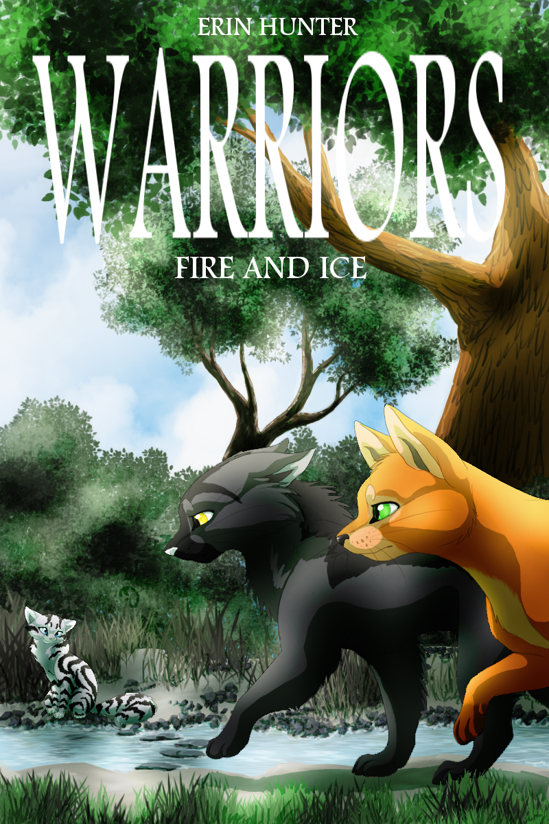 Fire and Ice fan cover by on