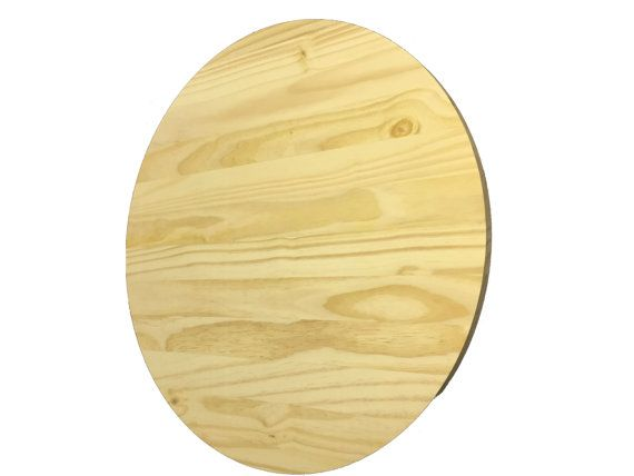 These 100% Pine Rounds are great for making furniture or for creating an art piece! We have several sizes. Here we are showing the 30. The