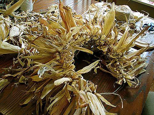 how to make dried corn