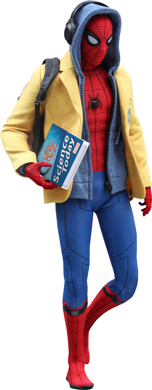 Spider Man Homecoming Spider Man Deluxe 1 X2f 6th Scale Hot Toys Action Figure Popcultcha Kostuum