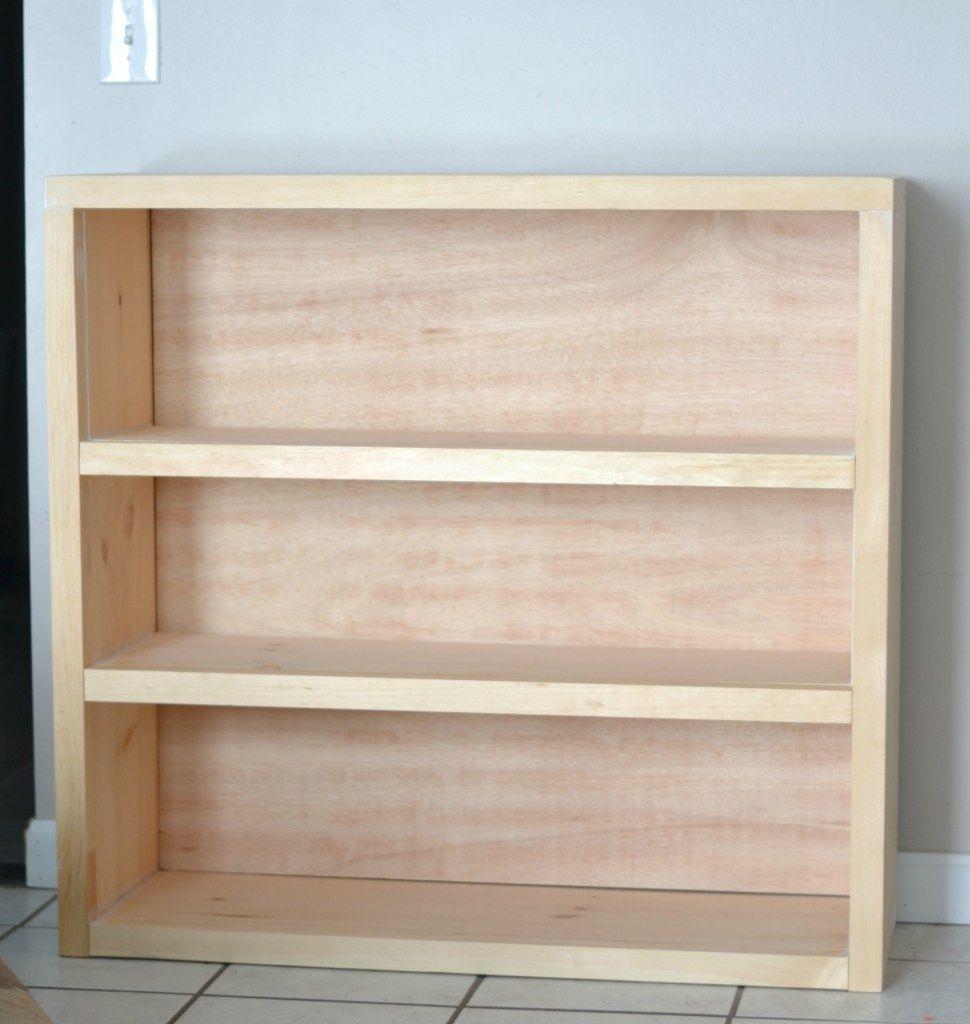 Iamahomemaker Com Bookcase Diy Simple Bookcase Simple Furniture