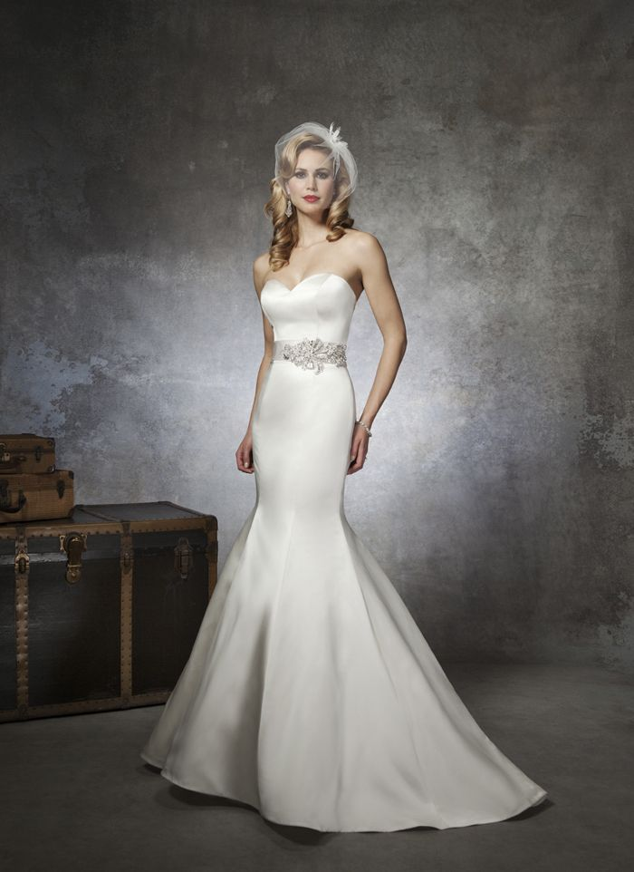 Justin Alexander Wedding Dresses Style 8659 A Strapless Regal Satin