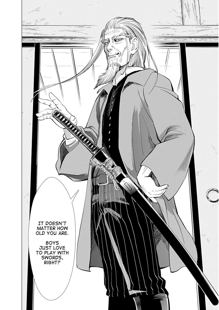 Read manga Golden Kamui Vol.002 Ch.012 Kamuy Mosir online