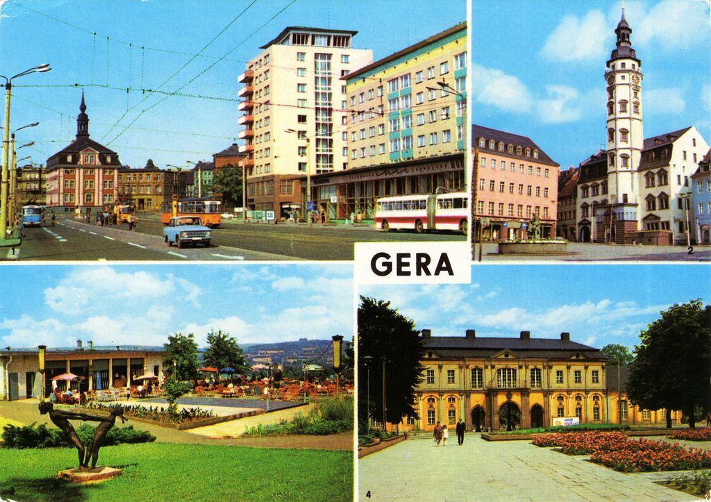 Germany Gera 01 Front Ddr Thuringen Und Ostalgie