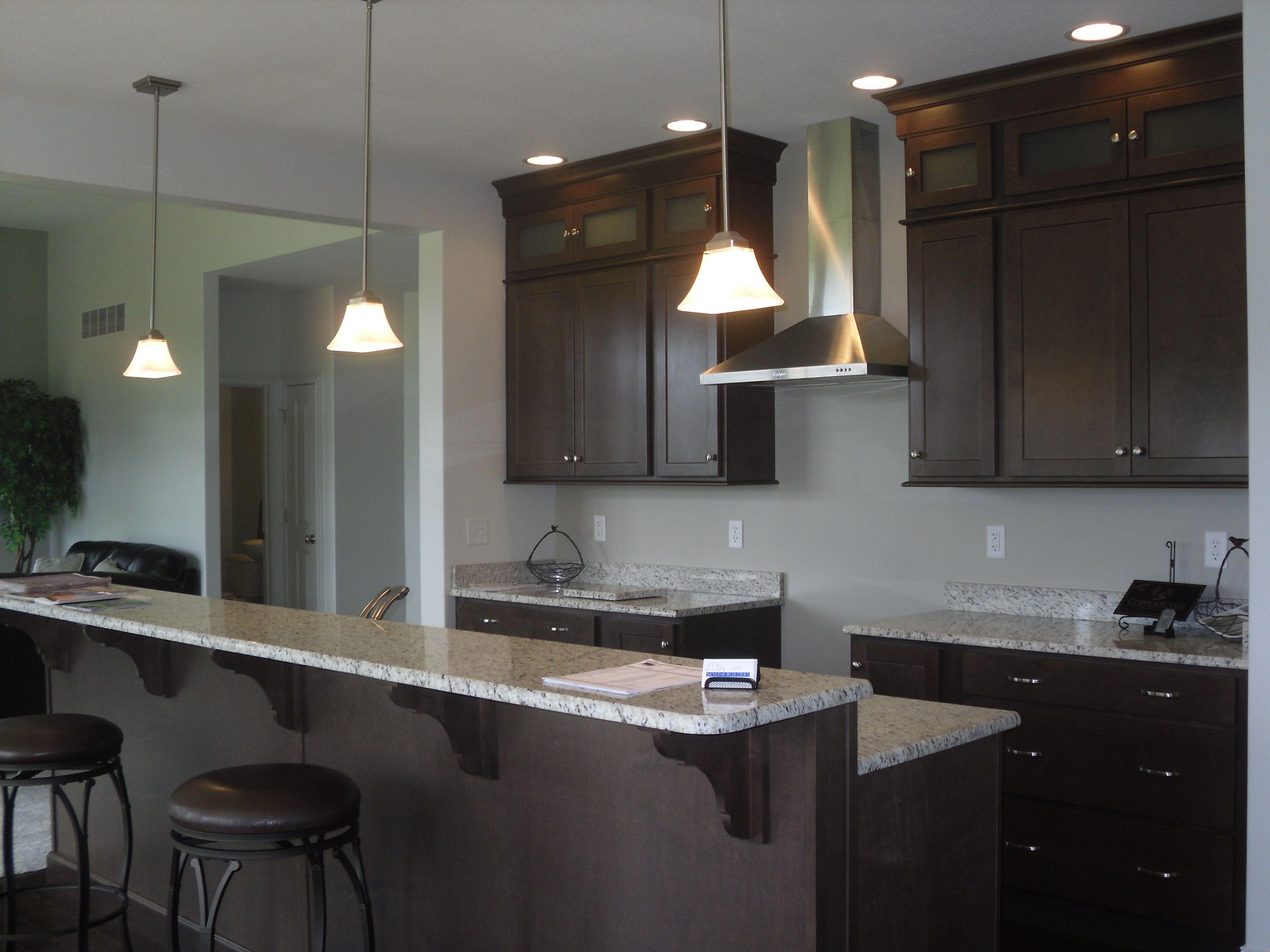 Contemporary Kitchen in Buckboard Maple with Granite Tops [Copper ...