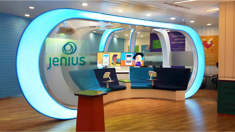 BTPN Banks Jenius Mobius Digital Hub