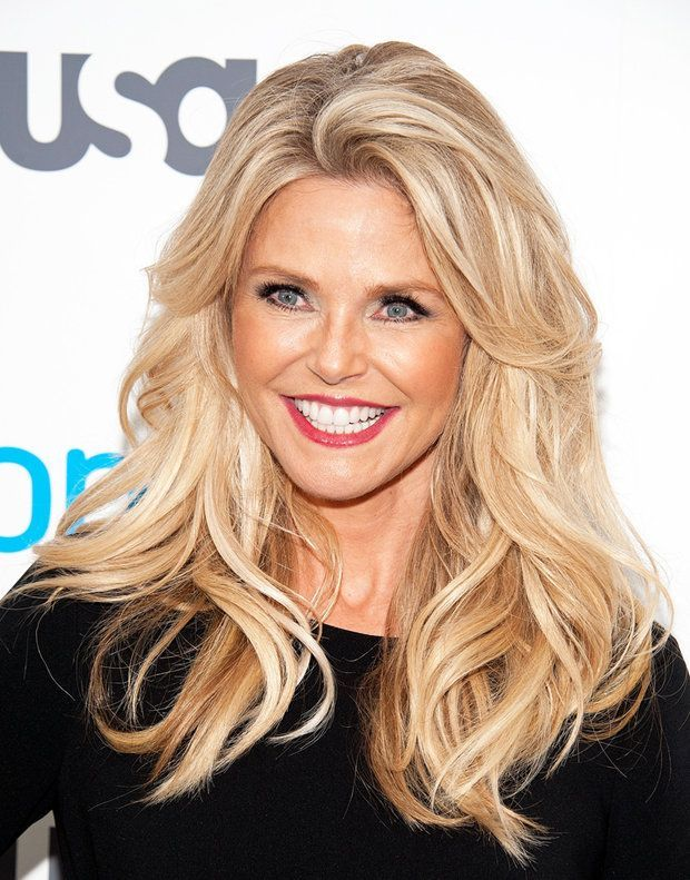 Hair Color Trends 2017 2018 Highlights Christie Brinkley At 62