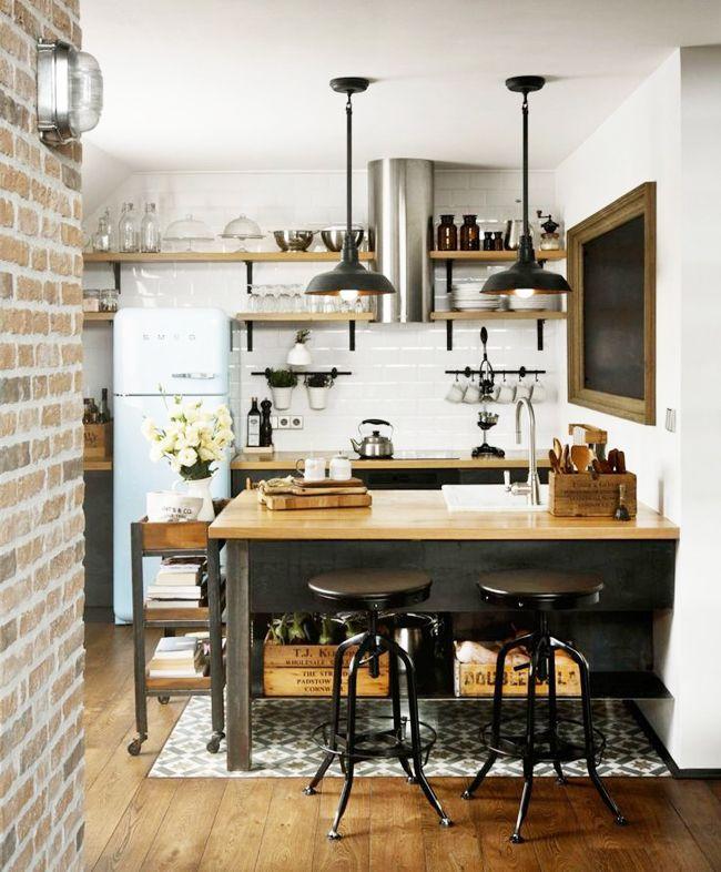 ideas para cocinas pequeas casas
