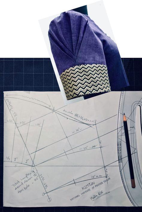 Blouse Guru Sleeve Design 7 | Blouse Guru