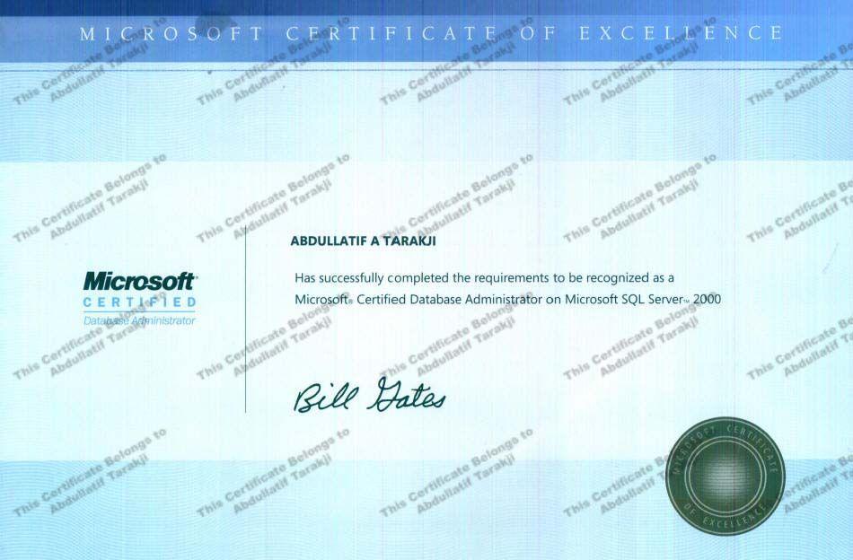 Mcdba Microsoft Certified Database Administrator