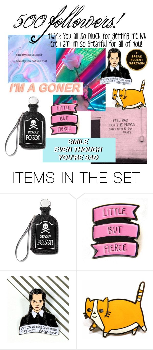 """""""500 followers!"""" by freckled-skyline ❤ liked on Polyvore featuring art"""