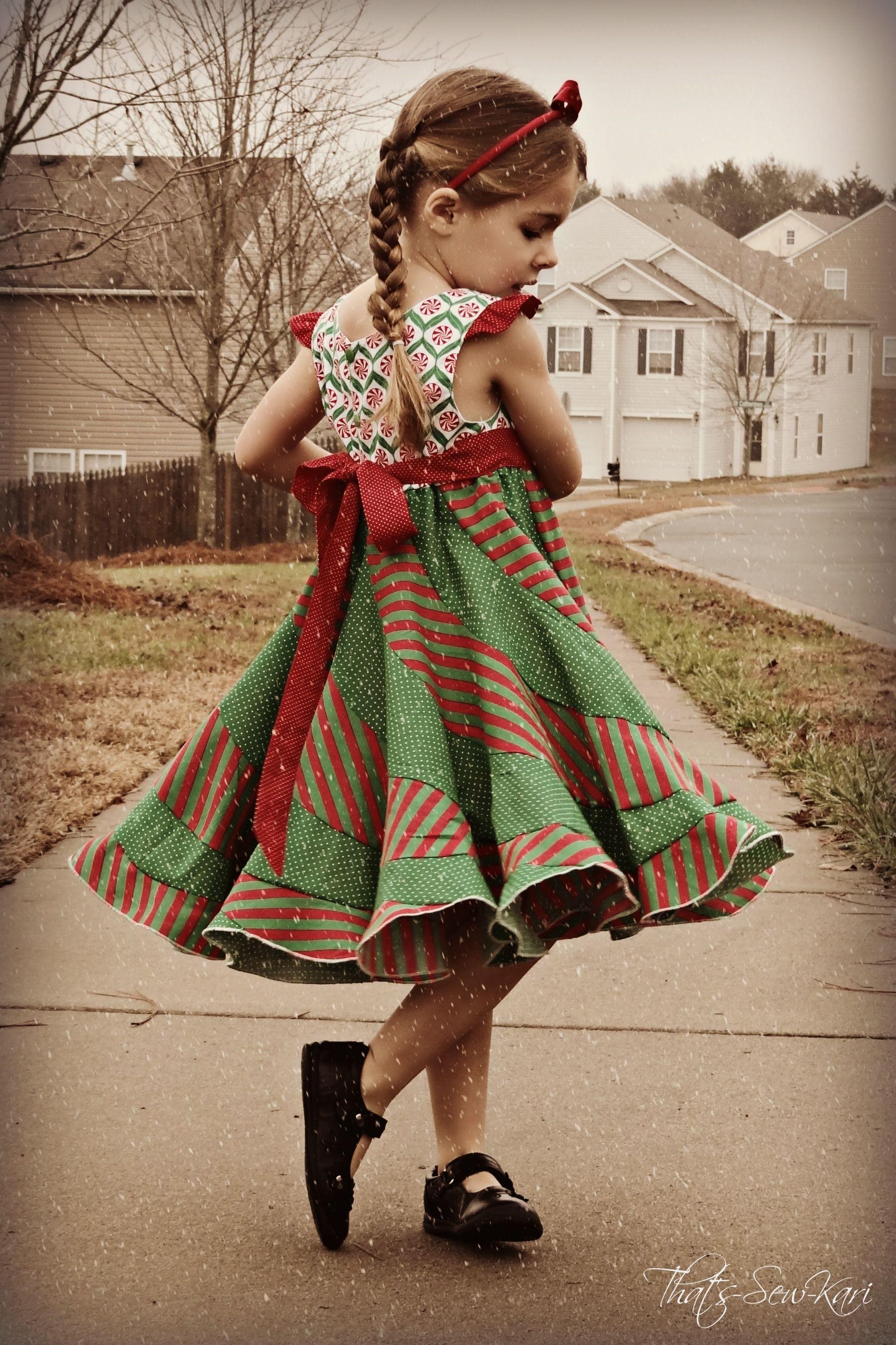 Peppermint Swirl Dress | nähen | Pinterest | Nähen und Kind