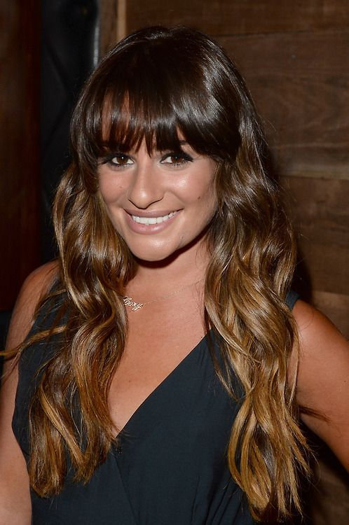 Lea Michele and her necklace <3
