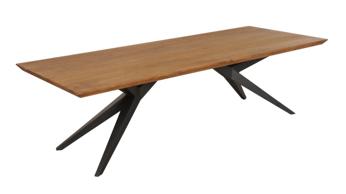 Esstisch Wildeiche Massiv 240x100 Speisetisch Tisch Modern