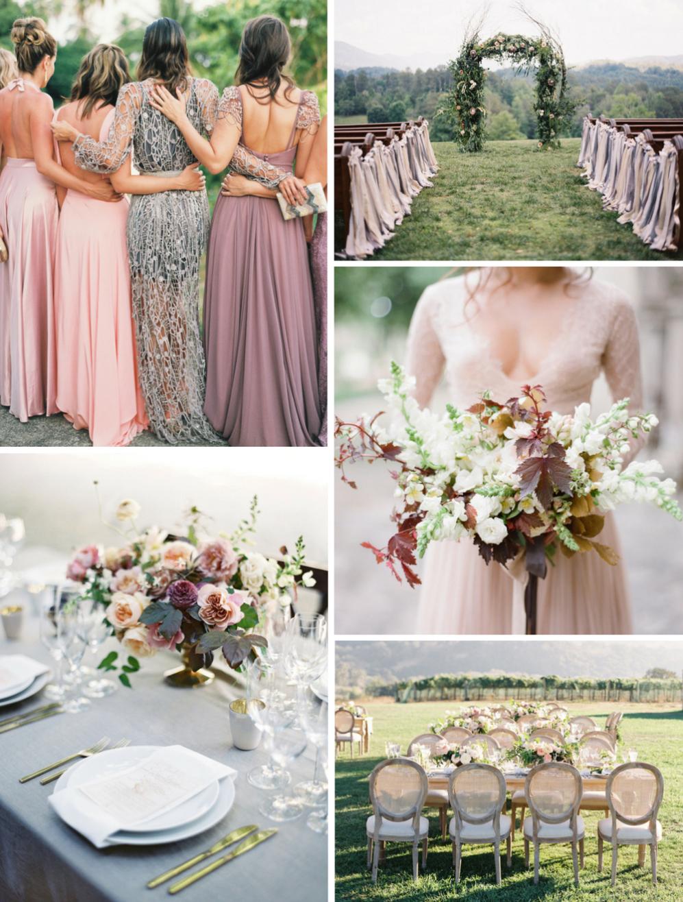 a38dc2ae180 5 originálních barevných palet pro vaši podzimní svatbu