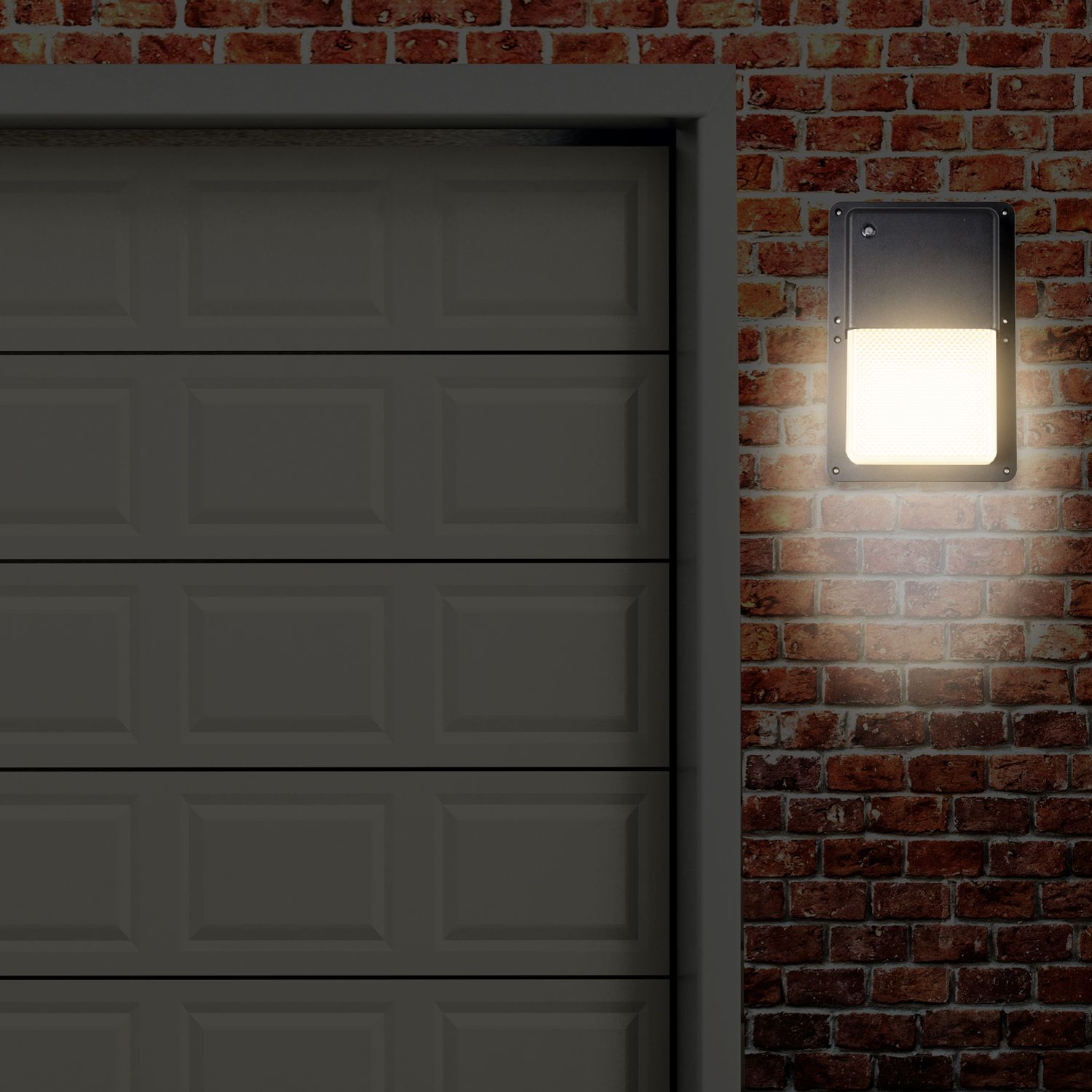 Rectangular Outdoor Led Wall Pack Light With Dusk To Dawn Sensor This Outdoor Led Light Fixture Is The Perfec Wall Pack Lights Led Outdoor Lighting Wall Packs