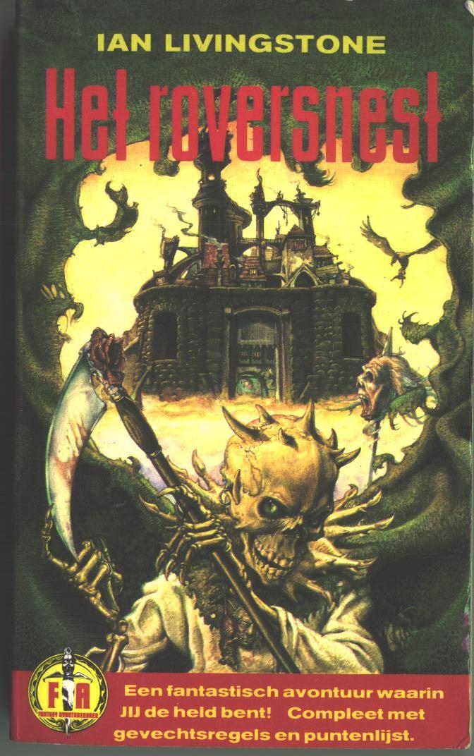 Het Roversnest Dutch Translation Of City Of Thieves Fighting Fantasy Book Livingstone Held Avontuur