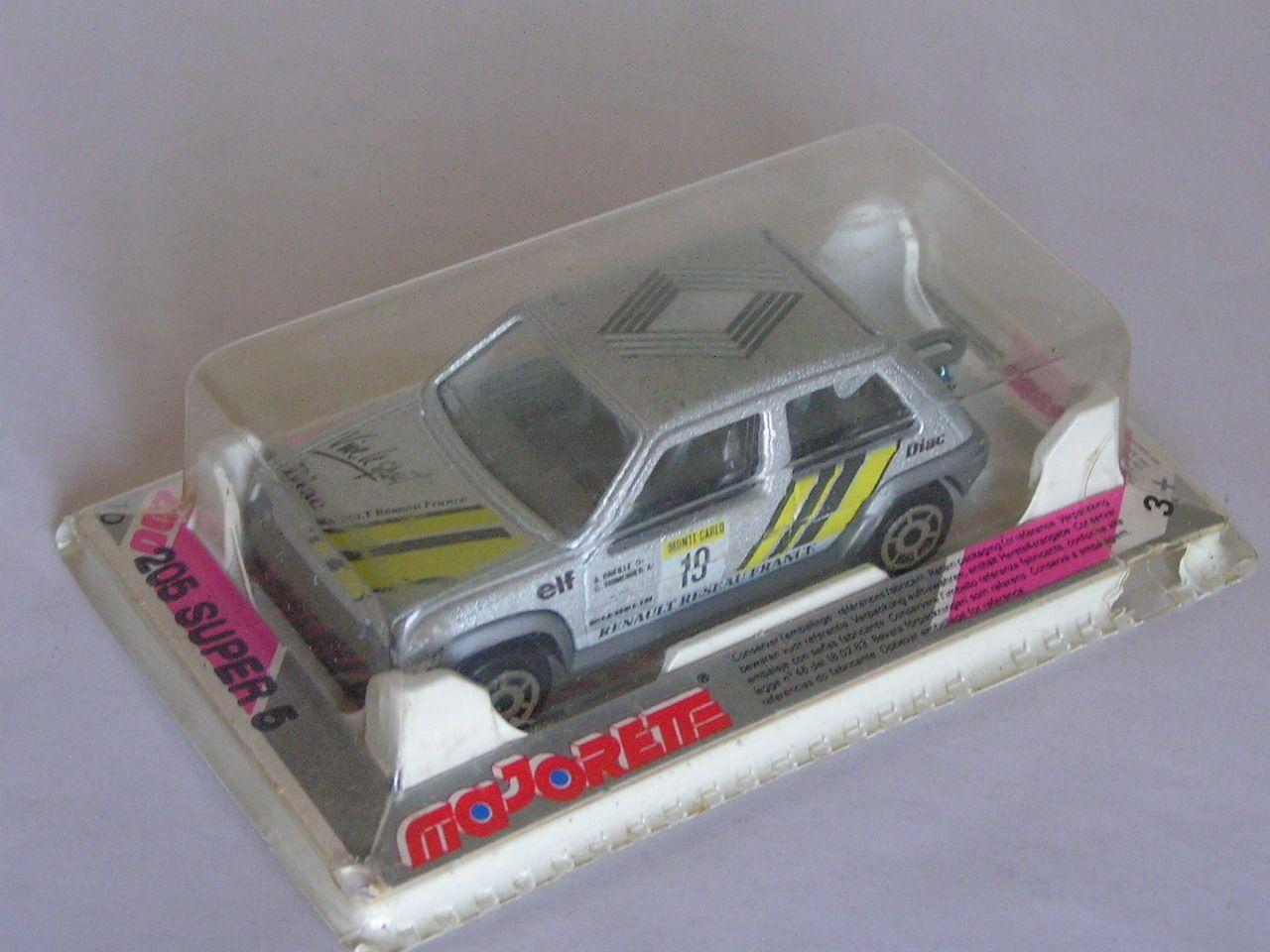 Turbo Monté Voiture 5 Super Miniatures D'enfance CarloMajorette c5RL4S3Ajq