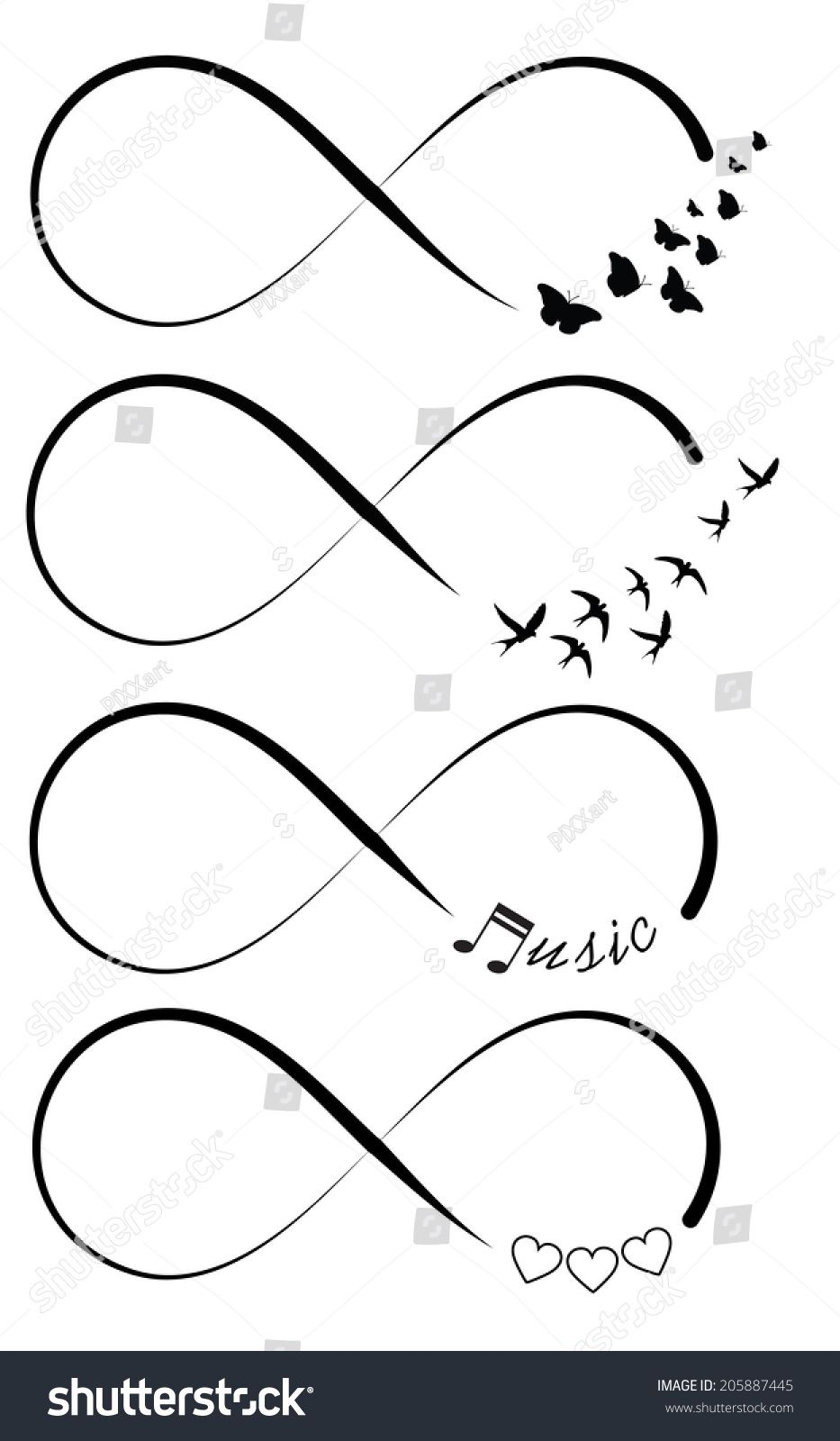 infinity symbols tatuajes posibles pinterest tattoos tattoo designs y symbolic tattoos. Black Bedroom Furniture Sets. Home Design Ideas