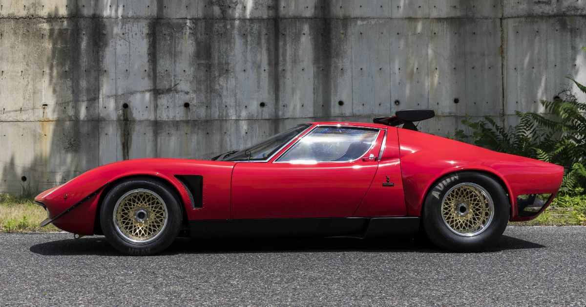 Lamborghini Restores One Of Its Most Historic Supercars The Only Miura Svr Classic Cars Lamborghini Miura Super Cars