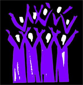 Choir Black And Purple clip art Choir humor, Choir memes