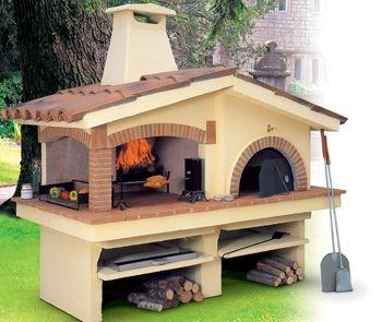 Forno a legna da giardino giardino pinterest - Forno per pizza da giardino ...