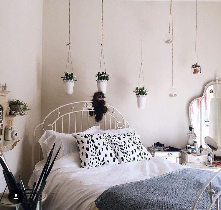 hanging plants HOME Pinterest Ideas para dormitorios - decoracion de interiores dormitorios
