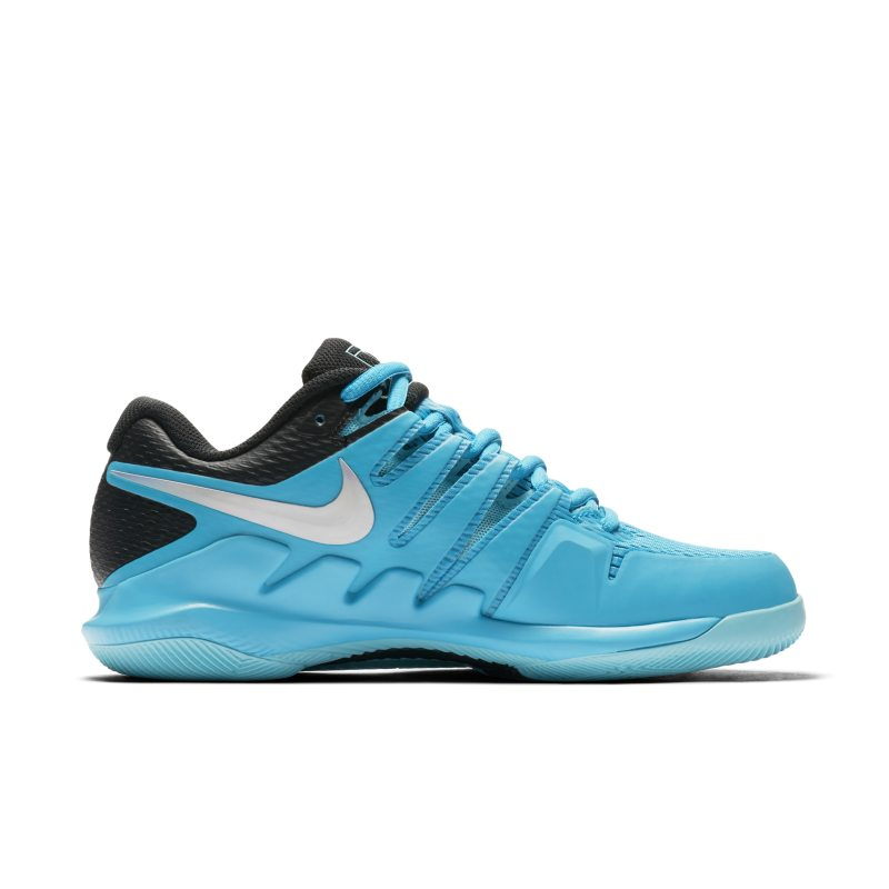 NikeCourt Air Zoom Vapor X Hard Court Women s Tennis Shoe - Blue ... 80a47304a