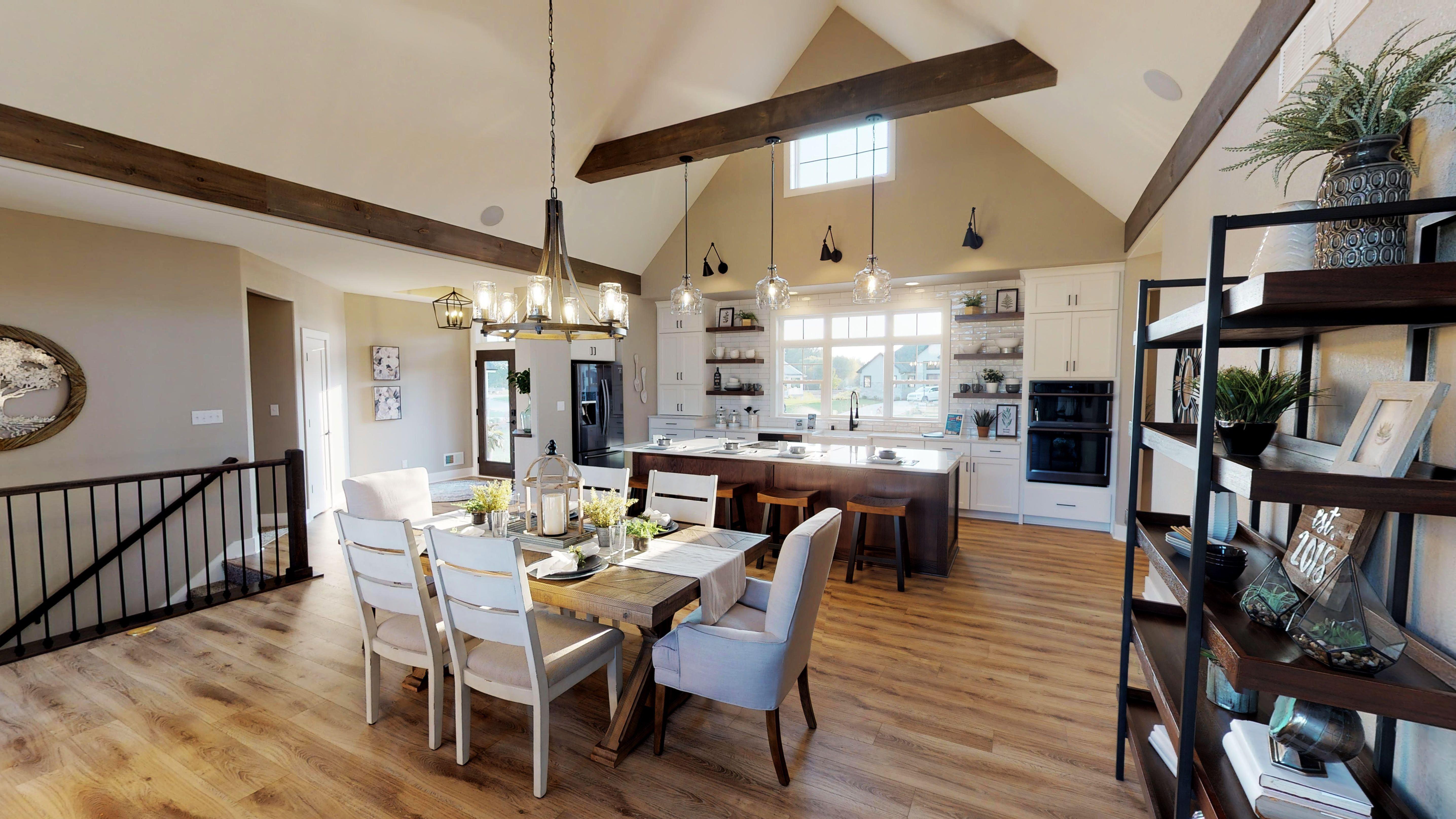 LVP Flooring Home, Parade of homes, Model homes