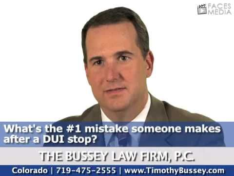 Colorado Springs Criminal Defense Attorney Tim Bussey Talks About