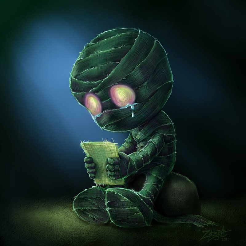 Amumu by ~Drakozyavra on deviantART