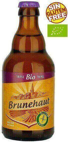 Comprar Cerveza Brunehaut Triple Ecológica Y Sin Gluten Envio 24h Cerveza Cerveza Sin Gluten Botellas De Licor