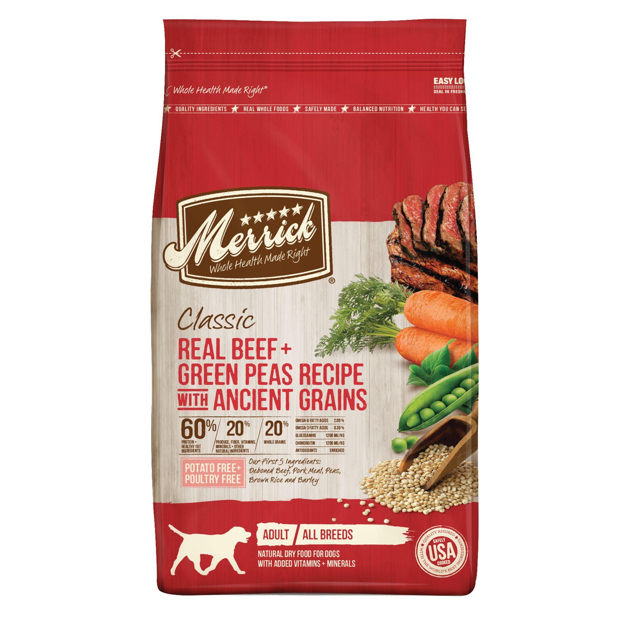 Merrick® Classic Real Beef Adult Dog Food - Natural