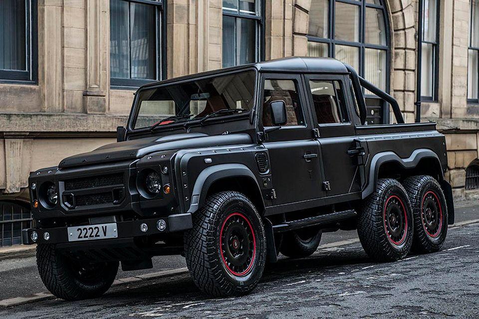 Как переделывают культовый внедорожник Land Rover Defender ...