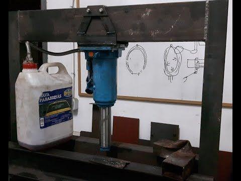 Youtube Prensa Hidraulica Casera Gato Hidraulico Y Herramientas
