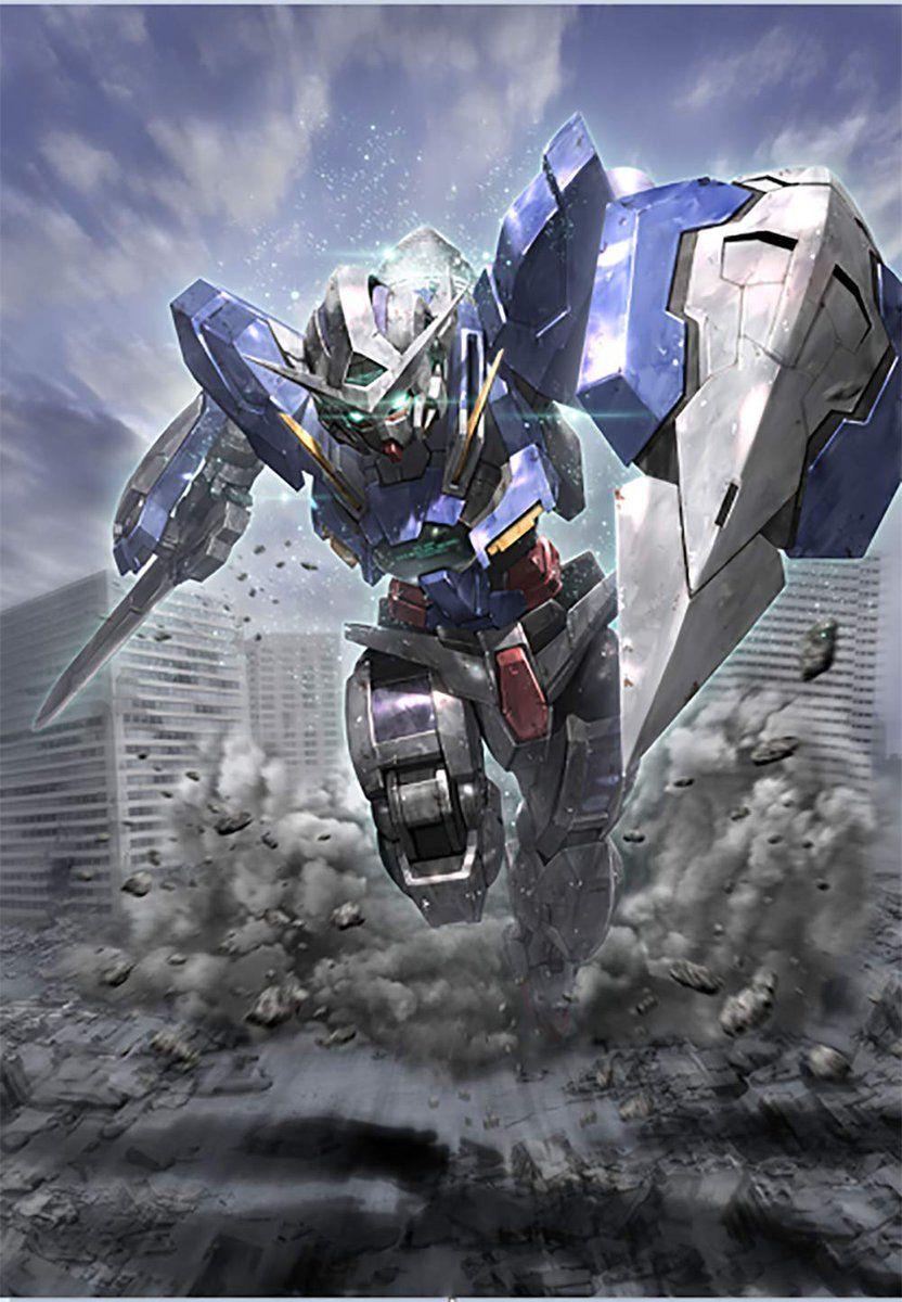 Gundam exia wallpaper 4k