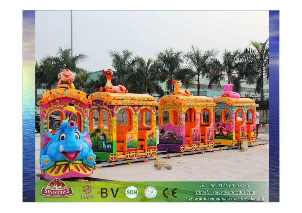 Track Train Amusement Ride for Christmas Sinorides Amusement, China by YU LU via slideshare SINORIDES (Swonder Amusement Rides Co.,Ltd.) Address: North of YuLong Junior Middle School, YuLong Town, Xingyang City, Henan Province, P.R.China 450100 Tel: (+86-371) 60253755 Mobile: +86-13523504956 Fax: (+86-371) 61106888 Email: sales@sinorides.com Skype: sinorides MSN: sinorides@msn.com