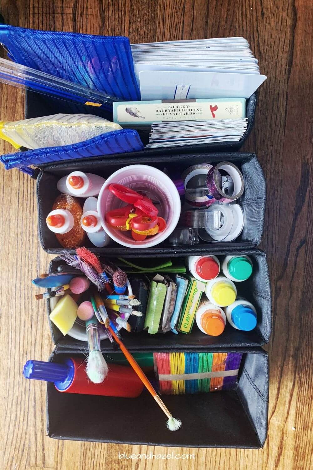 Photo of Our Homeschool Supplies For Kindergarten & Nature Study – Blue and Hazel