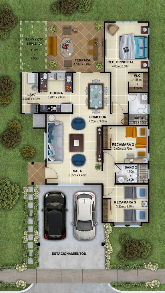 Planos Modelo Sofía is part of Home design floor plans - vivircomonunca www thehillspanama com
