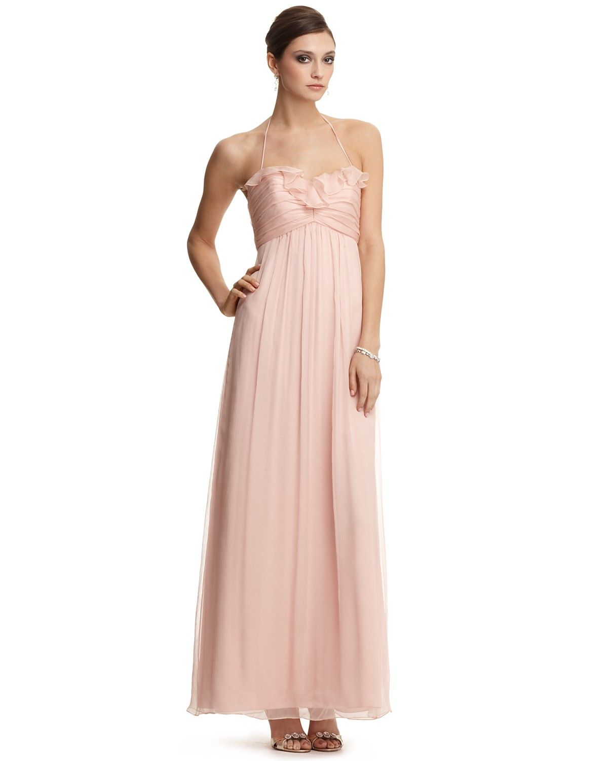 Ill be wearing this in a wedding next april amsale blush ruffle ill be wearing this in a wedding next april amsale blush ruffle front ombrellifo Images