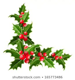 Christmas Corner Ornaments Images Stock Photos Vectors Shutterstock Christmas Designs Christmas Embroidery Christmas Holly