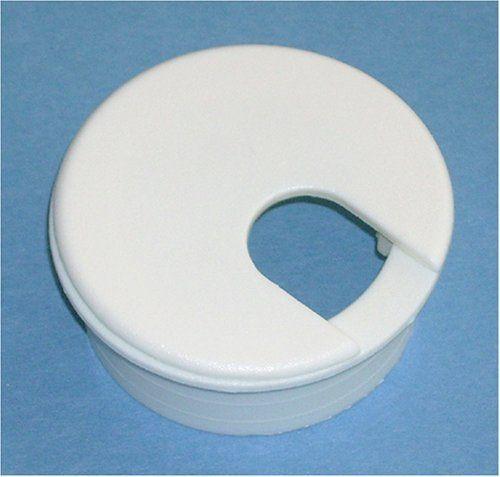 1 3 4 White Desk Grommet 5 Pack By Bainbridge Manufacturing Inc 8 40 1 3 4 Almond Desk Grommet Fits In 1 3 4 Home Hardware Desk Grommet White Desks