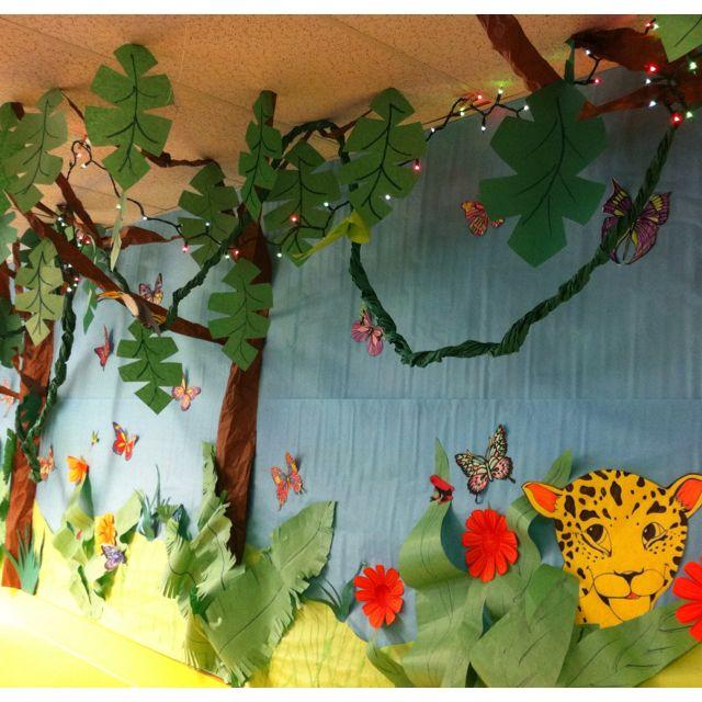 My Rainforest Decor 2012 | school stuff rainforest/ocean | Jungle